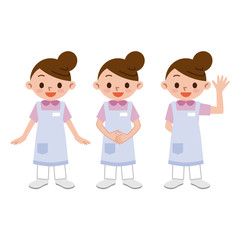 女性の介護士