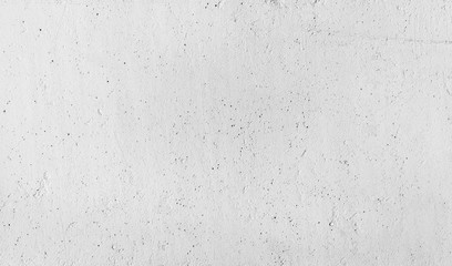 Closeup white concrete wall texture with plaster