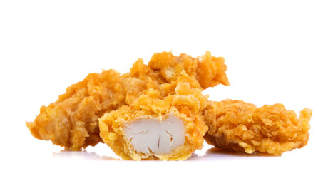 Chicken Strips on a white background