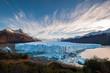 Leinwandbild Motiv Perito Moreno Glacier in the autumn afternoon, Argentina.