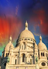 La Basilique du Sacre Coeur - Paris