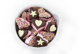 Marshmallow Hearts - stars and hearts