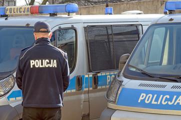 Polish Police sign