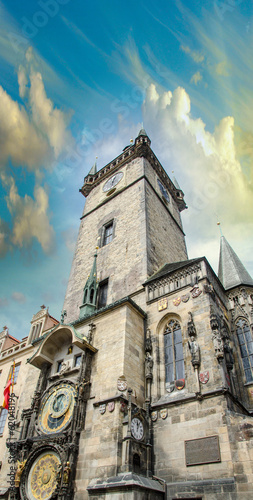 Ancient architecture of Prague, Czech Republic