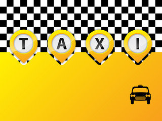 Taxi text in pointers