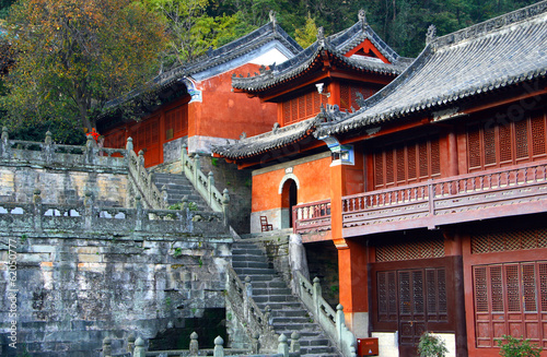 Purple Cloud Temple at Wudang Mountains, Hubei province, China