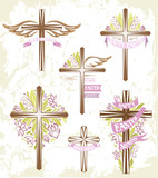 Set of ester crosses