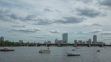 Time lapse Boston Charles River