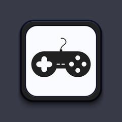 Vector creative modern square icon. Eps 10