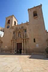 Basilica de Santa Maria in Alicante, Spain