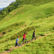 Nordic Walking im Gebirge