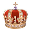 Royal Crown - white background - 62053541
