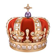 Royal Crown - white background