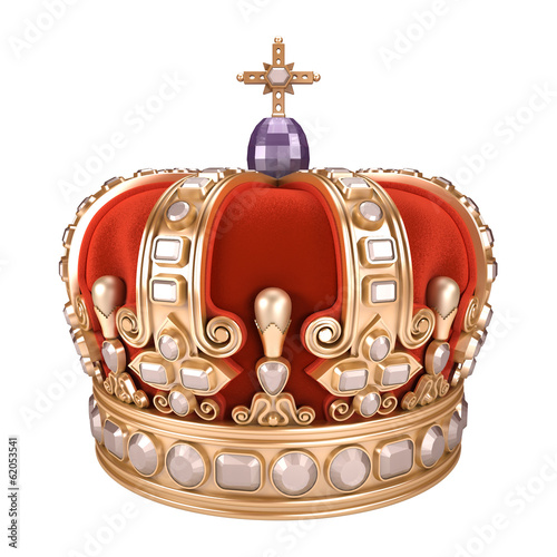 Royal Crown - white background