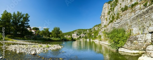 Vogüé en Ardèche, plus beau village de France