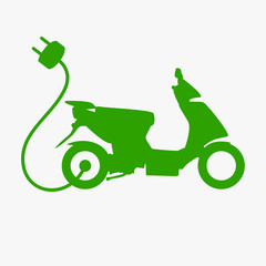 E-Scooter Grafik
