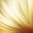Gold abstract swirl