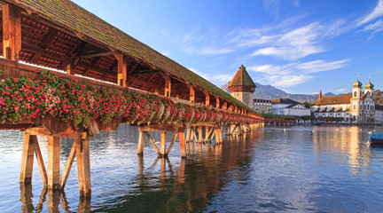 Lucerne, early morning