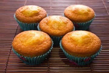 five muffins