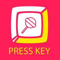 keyboard key  Lollipop.
