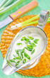 sour cream with onion