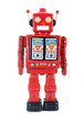 red robot toy