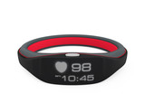 Smart wristband display heart rate and time