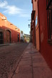 San Miguel de Allende and its colorful streets in Mexico