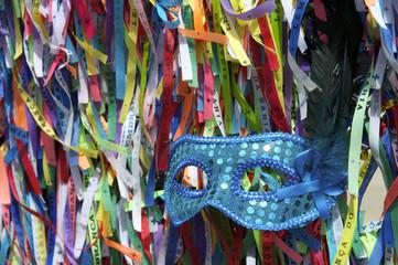 Carnival Mask Brazilian Wish Ribbons