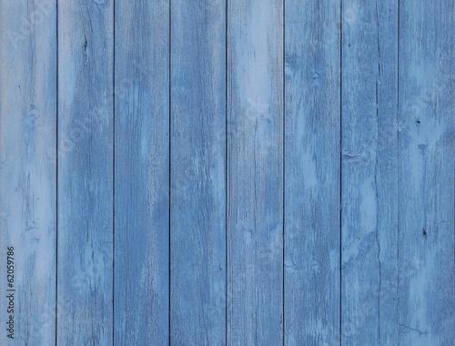 Blau gestrichen