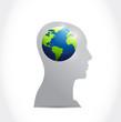 think international concept illustration design