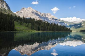 la montagna riflessa nel lago