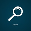 White search icon