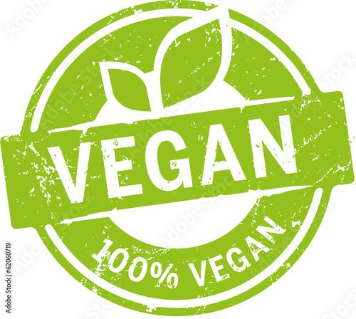 Button 100% Vegan