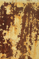 painted iron sheet with traces of corrosion background
