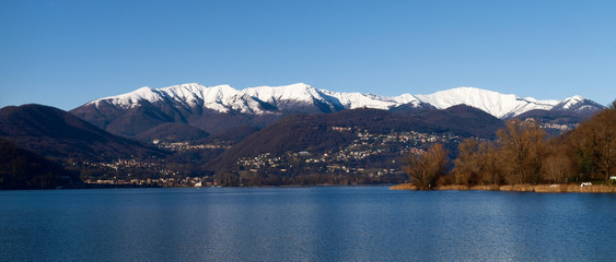 Switzerland - Lake of Lugano.