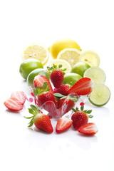 Fragole e agrumi
