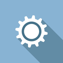 Vector logo gear