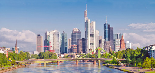 Die spektakuläre Frankfurter Skyline