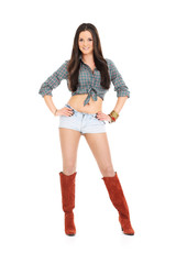 Country style woman