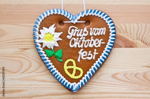 Oktoberfest gingerbread