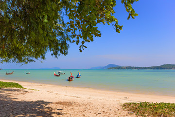 Exotic Bay of Rawai in Phuket island Thailand