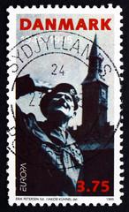 Postage stamp Denmark 1995 General Montgomery, Liberation