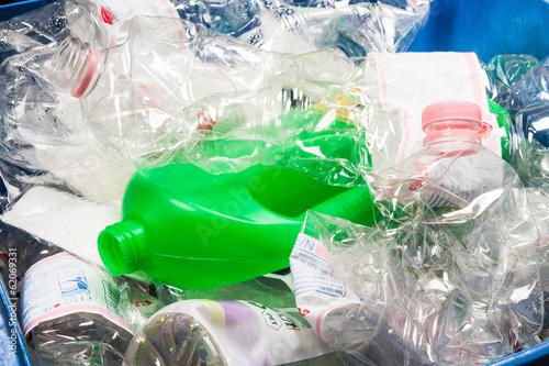 Poster Raccolta differenziata plastica