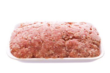 Pack of minced meat