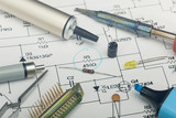 Electronic components poster