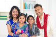 Happy Indian family