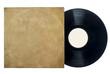Retro Long Play Vinyl Record With Sleeve.
