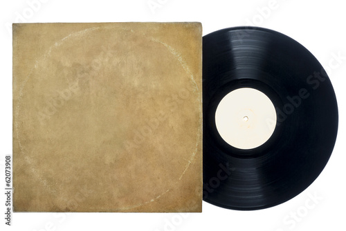 Retro Long Play Vinyl Record With Sleeve.