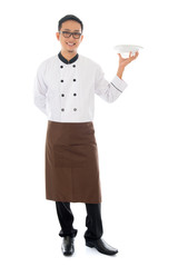 Asian male chef